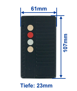 Abmessung SA40-4E