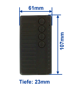Abmessung SA434-4E