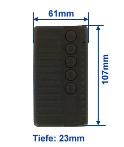 Abmessung SA434-5E