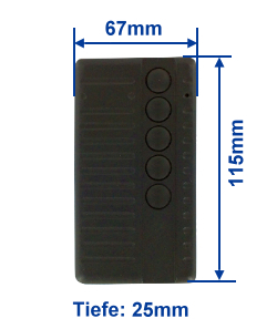 Abmessung SF433-5E