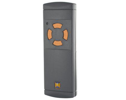 HS(M)2/4 Großes Gehäuse, 4 hellgraue Tasten, 40 MHz